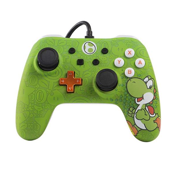 PowerA / Yoshi ヨッシー /  海外限定品 公式ライセンス品 / Nintendo Switch用  USB ゲーム コントローラー