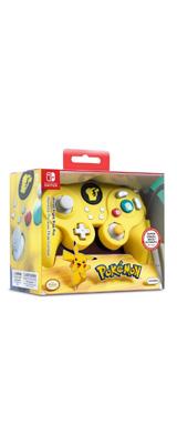 PDP / Pikachu ピカチュウ /ポケモン 海外限定品 公式ライセンス品 / Nintendo Switch用  ゲームキューブ型 ゲーム コントローラー