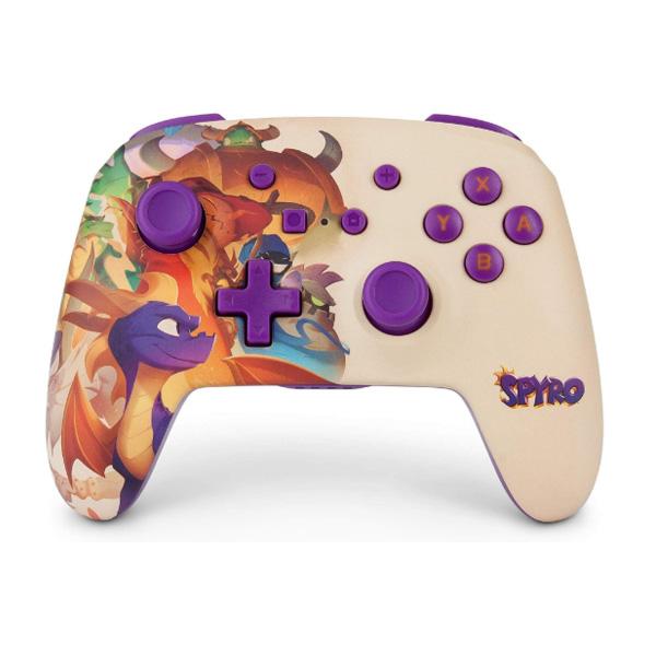 PowerA / Spyro スパイロ・ザ・ドラゴン / 海外限定品 公式ライセンス品 / Nintendo Switch用  Bluetooth ゲーム コントローラー
