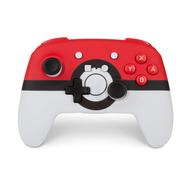 PowerA / Poke Ball Red モンスターボール / 海外限定品 公式ライセンス品 / Nintendo Switch用  Bluetooth ゲーム コントローラー