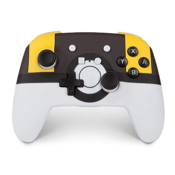 PowerA / Pokemon Ultra Ball ポケモン ハイパーボール / 海外限定品 公式ライセンス品 / Nintendo Switch用  Bluetooth ゲーム コントローラー
