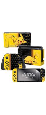 Controller Gear / Pikachu Set 1 (ピカチュウ) 海外限定品 任天堂公式ライセンス品 / Nintendo Switch用 ドックスキン シール 【ポケモン】
