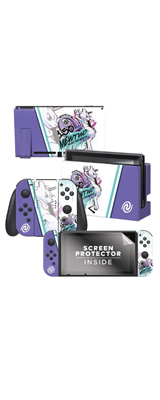 Controller Gear / Mewtwo Skate Set 1 (ミュウツー) 海外限定品 任天堂公式ライセンス品 / Nintendo Switch用 ドックスキン シール 【ポケモン】