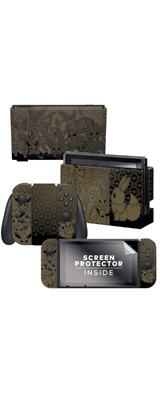 Controller Gear / Eevee Evolutions /ポケモン ブイズ イーブイ / 海外限定品 公式ライセンス品 / Nintendo Switch用 ドックスキン シール