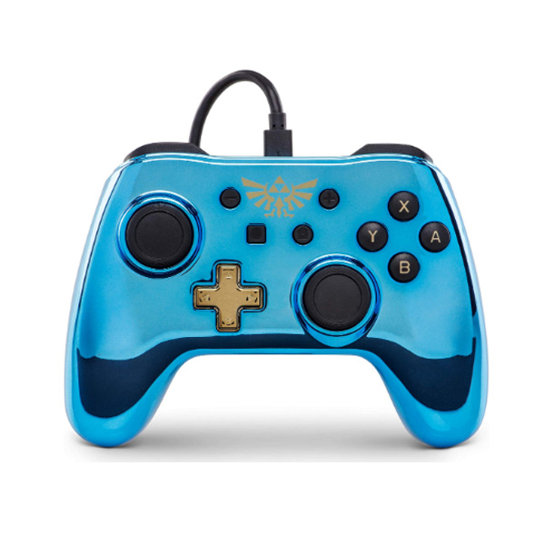 PowerA / Zelda ゼルダの伝説 / 海外限定品 公式ライセンス品 / Nintendo Switch用  USB ゲーム コントローラー
