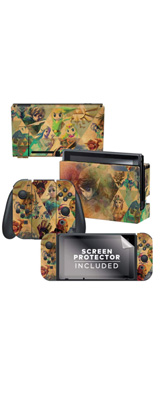 PowerA / Zelda ゼルダの伝説 / 海外限定品 公式ライセンス品 / Nintendo Switch用 ドックスキン シール