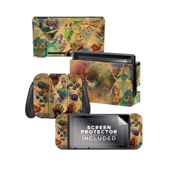 PowerA / Zelda ゼルダの伝説 / 海外限定品 公式ライセンス品 / Nintendo Switch用 ドックスキン カバー