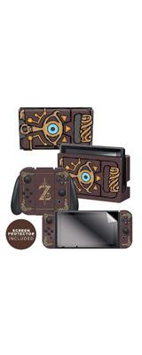 Controller Gear / The Legend of Zelda (Sheikah Slate) 海外限定品 任天堂公式ライセンス品 / Nintendo Switch用 ドックスキン  シール 【ゼルダの伝説】
