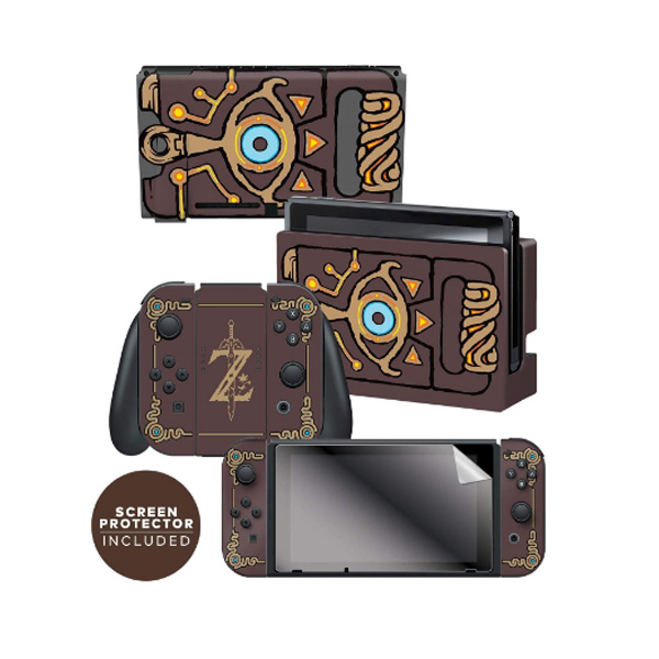 Controller Gear / Sheikah Slate ゼルダの伝説 / 海外限定品 公式ライセンス品 / Nintendo Switch用 ドックスキン カバー