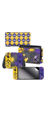 Controller Gear / Splatfest Splatoon2 / スプラトゥーン2 海外限定品 公式ライセンス品 / Nintendo Switch用 ドックスキン シール
