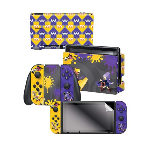 Controller Gear / Splatfest Splatoon2 / スプラトゥーン2 海外限定品 公式ライセンス品 / Nintendo Switch用 ドックスキン カバー