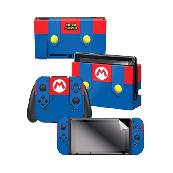 Controller Gear / Mario's Outfit スーパーマリオ / 海外限定品 公式ライセンス品 / Nintendo Switch用 ドックスキン カバー