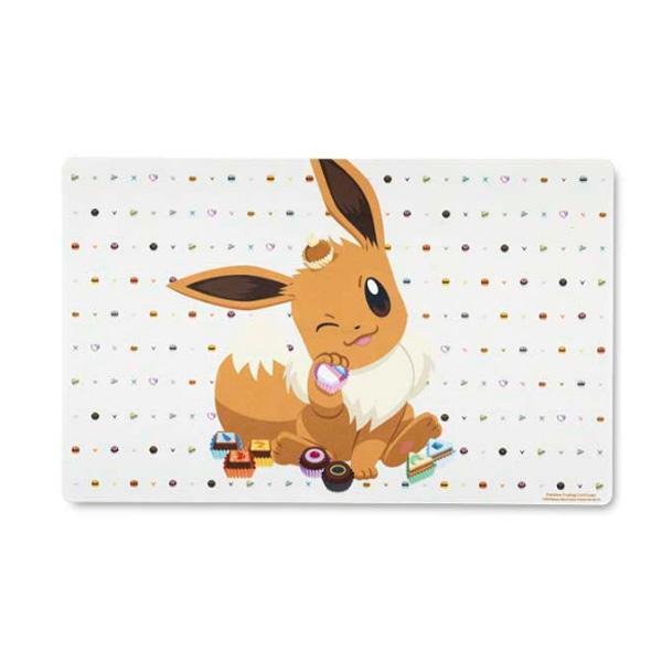 Pokemon Center(ポケモンセンター) / Pokémon TCG: Eevee Sweet Choices Playmat / 海外限定 ポケモン イーブイ プレイマット
