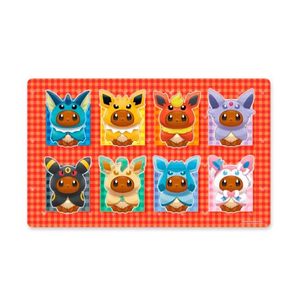 Pokemon Center(ポケモンセンター) / Pokémon TCG: Eevee Capes Playmat / 海外限定 ポケモン イーブイ 着ぐるみ プレイマット