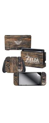 Controller Gear / The Legend of Zelda (Woodgrain Triforce) 海外限定品 任天堂公式ライセンス品 / Nintendo Switch用 ドックスキン  シール 【ゼルダの伝説】