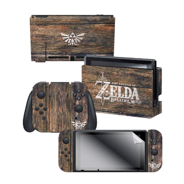 Controller Gear / The Legend of Zelda ゼルダの伝説 / 海外限定品 公式ライセンス品 / Nintendo Switch用 ドックスキン カバー