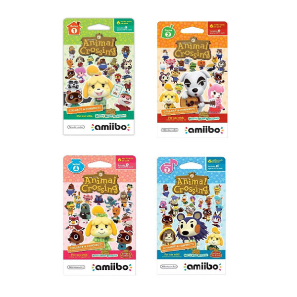 Nintendo(ニンテンドー/任天堂) / Animal Crossing amiibo Cards / どうぶつの森 海外仕様 amiiboカード ゲーム
