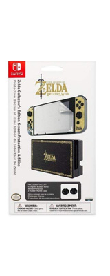 PDP / Nintendo Switch Zelda Collector's Edition Screen Protection & Skins / 海外限定品 公式ライセンス品 / Nintendo Switch用 ドックスキン シール