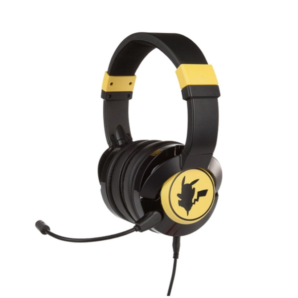 PowerA / Pikachu Gaming Headset / 海外限定品 公式ライセンス品 / ゲーミング ヘッドホン