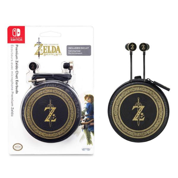 pPDP / Zelda Breath of the Wild Chat Earbuds / 海外限定 ゼルダの伝説 イヤホン