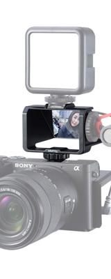UURig / R031 カメラフリップスクリーンミラー / 自撮りモニター 【SONY α7III などに対応】