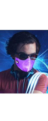 SAFEBAO / LED 7色に光る マスク / パーティグッズ パリピグッズ