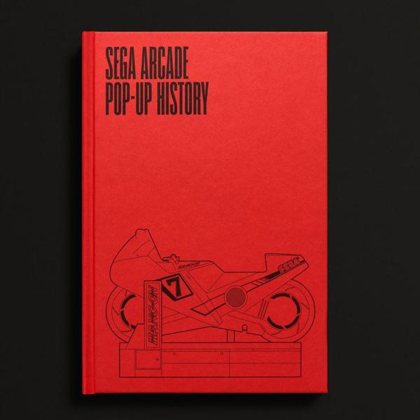 SEGA (セガ) Arcade: Pop-Up History / 海外限定 / アーケードゲーム ポップアップ 飛び出す絵本
