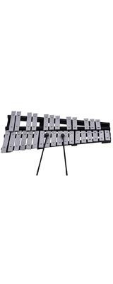 ammoon / 30音 鉄琴 グロッケン / 折り畳み式 教育用 打楽器キャリングバッグ付き