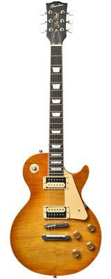初心者にオススメ Bacchus(バッカス) / BLP-FMH/R HB レスポールタイプ エレキギター