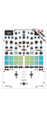 12inch SKINZ / Reloop Elite Skinz COLORS (ホワイト・グレー)  【Elite用 接着タイプスキン】