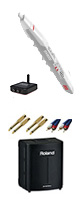 【電池駆動アンプ:BA-330セット】 Akai(アカイ) / EWI5000WJ ワイヤレス対応 ウインド・シンセサイザー 2大特典セット