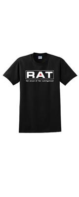 PROCO(プロコ)/RAT Black Tシャツ Mサイズ BLACK