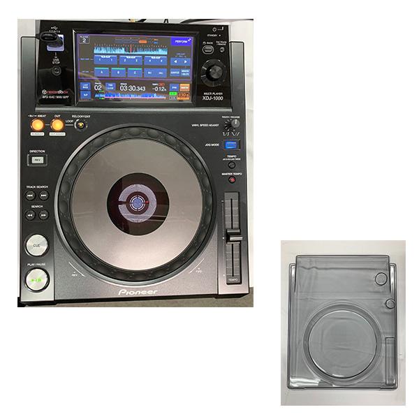 【中古】Pioneer(パイオニア)  / XDJ-1000 USB対応DJプレーヤ  (デッキセーバー付き!)