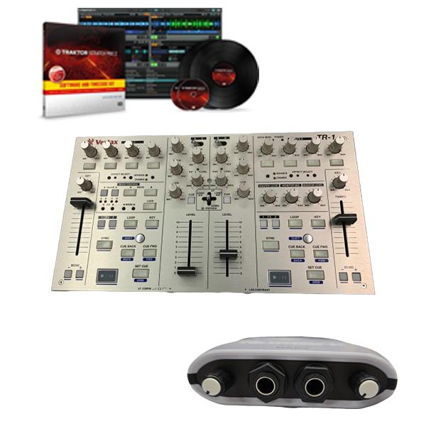 【中古】Vestax (ベスタクス) / TR-1 DJiO2 & TRAKTOR Pro 2セット