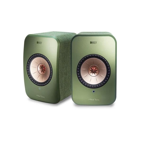 KEF(ケーイーエフ) / LSX / Green オリーブ グリーン / ハイレゾ対応 / ペア ワイヤレス スピーカー