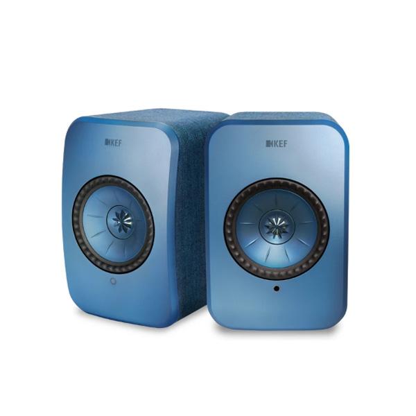KEF(ケーイーエフ) / LSX / Blue ブルー / ハイレゾ対応 / ペア ワイヤレス スピーカー