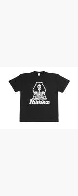 Ibanez(アイバニーズ) / Ibanez Lifestyle Item IBAT004L Ibanez スカル・デザインTシャツ Lサイズ