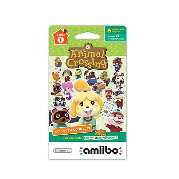 Nintendo(ニンテンドー/任天堂) / Animal Crossing amiibo Cards / どうぶつの森 海外仕様 / シリーズ1 / 6枚 amiiboカード ゲーム