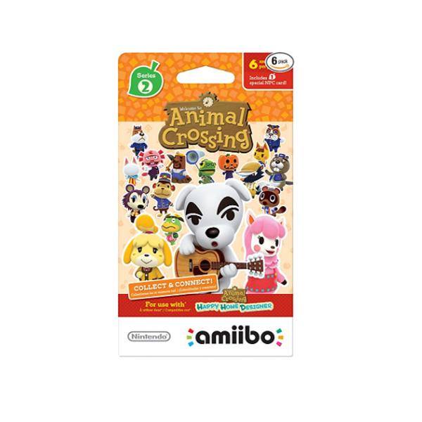 Nintendo(ニンテンドー/任天堂) / Animal Crossing amiibo Cards / どうぶつの森 海外仕様 / シリーズ2 / 6枚 amiiboカード ゲーム