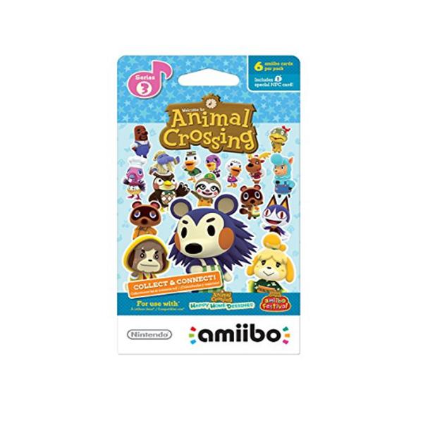 Nintendo(ニンテンドー/任天堂) / Animal Crossing amiibo Cards / どうぶつの森 海外仕様 / シリーズ3 / 6枚 amiiboカード ゲーム