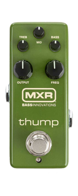 MXR / M281 THUMP BASS PREAMP ベースプリアンプ エフェクター