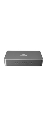 NuPrime(ニュープライム) / Omnia SW-8 / 8ポート・ギガビット・イーサネット・ネットワーク・スイッチハブ / オーディオ専用ハブ