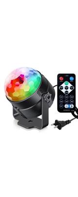 パリピグッズ パーティ クラブ / 米国プラグ RGB 3W  / マジックボールエフェクト ミラーボール ライト