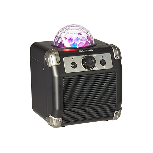 Sylvania / Bluetooth Speaker with Disco Ball  / ポータブル ミラーボール スピーカー
