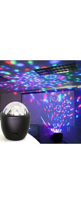 mini Party light Ball USB / LED USB対応 パリピグッズ   ミニ パーティ ミラーボール ポータブルライト