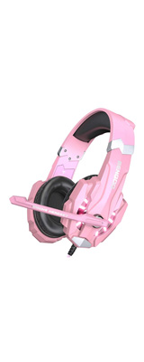 BENGOO / G9000 (pink) / ゲーミングヘッドセット / 密閉型 ゲーム用ヘッドセット マイク付き / ヘッドホン 1大特典セット