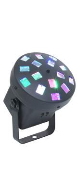 e-lite(イーライト) / MUSHROOM / サウンドモードとオートモード対応 / RGB ビームライト / 照明 エフェクトライト 【カラオケ DJイベント 機材】