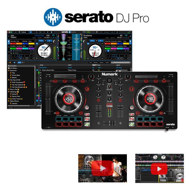 【限定1台】Numark(ヌマーク) / MixTrack Platinum / Serato DJ付き応援セット