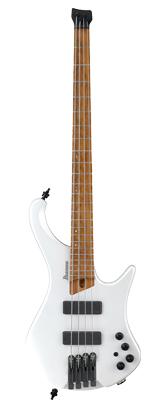 Ibanez(アイバニーズ) / EHB1000-PWM(Pearl White Matte) エルゴノミック ・ヘッドレス ・ベース 4 弦モデル