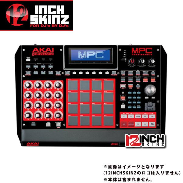 12inch SKINZ / Akai MPC Renaissance Skinz (Black/Red) 【MPC Renaissance用スキン】